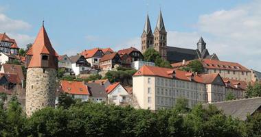 Blick auf Dom und Ursulinenkloster