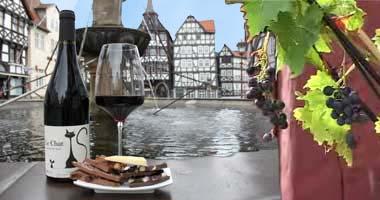 Kulinarische Führung in Fritzlar: Wein trifft Schokolade