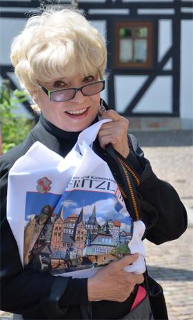 Ingrid Steeger in Fritzlar