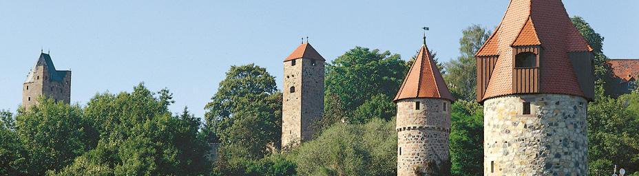 Vier-Türme-Blick Dom- und Kaiserstadt Fritzlar